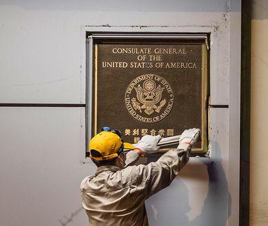 Konflikt USA-Chiny. Amerykanie opuścili konsulat w Chengdu
