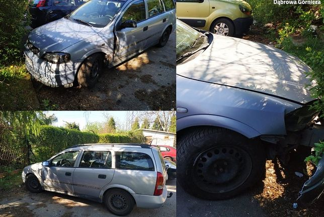 Śląskie. Samochód sprawcy w Dąbrowie Górniczej posiadał liczne uszkodzenia, które odpowiadały zniszczeniom na pojazdach pokrzywdzonego.