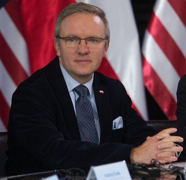 Krzysztof Szczerski, szef gabinetu Andrzeja Dudy