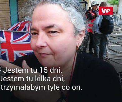 """Reporter WP rozmawiał z ludźmi czekającymi na royal baby. """"Jestem tu 15 dni"""""""