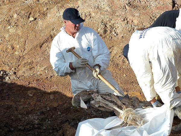 Ekshumowano zwłoki setek ofiar serbskich czystek etnicznych w Bośni i Hercegowinie