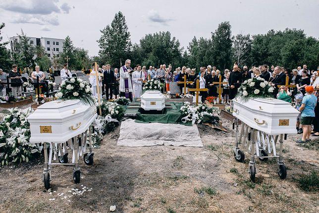 Pogrzeb Barbary, Laury i Lindy odbył się w piątek.
