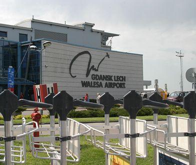 Widok na budynek gdańskiego portu lotniczego