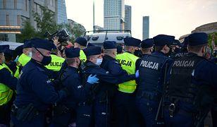 """Warszawa. Policja podsumowała piątkowy """"Protest Przedsiębiorców"""""""
