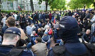 Strajk przedsiębiorców zakończył się przed Kancelarią Prezesa Rady Ministrów