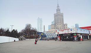 Warszawa stała się na moment zupełnie innym miastem