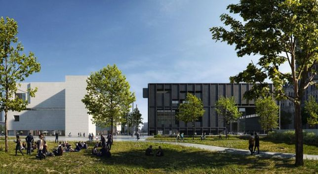 Projekt Muzeum Sztuki Współczesnej w Warszawie