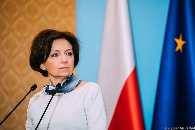 """Minister Marlena Maląg: """"Warszawa jest niechlubnym wyjątkiem"""""""