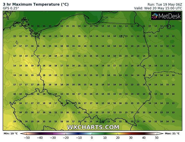 Pogoda na dziś i jutro. Warszawa w zasięgu frontu z wysokim ciśnieniem