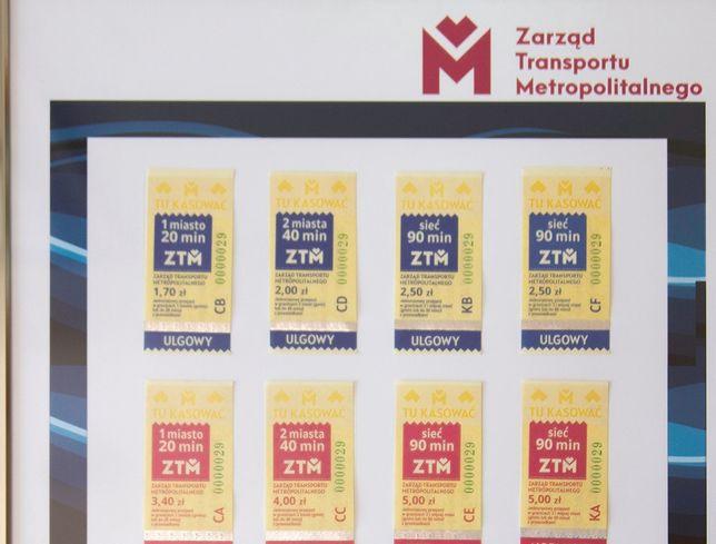 Śląskie. Od połowy kwietnia podrożeją ceny biletów w komunikacji miejskiej  ZTM.