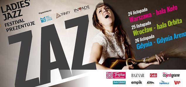 Ladie's Jazz Festival - ZAZ wraca do Polski