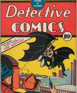 Komiks o Batmanie kupiony za 10 centów sprzedany za 2,2 mln dol. Zeszyt ma 64 strony
