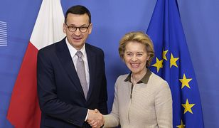 Budżet UE. Ursula von der Leyen napisała list do Mateusza Morawieckiego