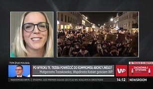 Kto jest odpowiedzialny za obecną sytuację i protest? Małgorzata Trzaskowska nie ma wątpliwości