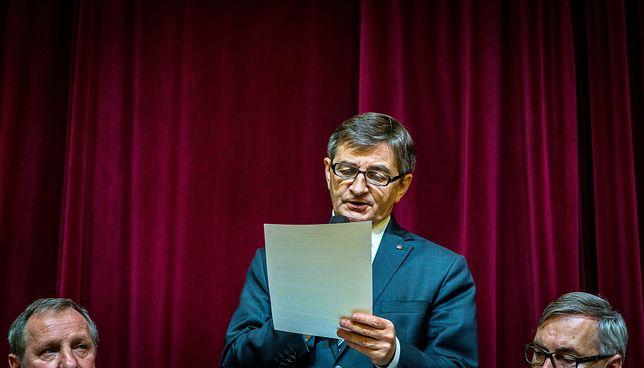 Marszałek Sejmu Marek Kuchciński zbiera gromy na spotkaniach z wyborcami