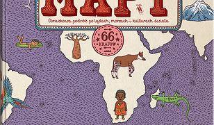 MAPY. Edycja fioletowa. Obrazkowa podróż po lądach, morzach i kulturach świata
