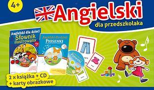 Pakiet Angielski dla przedszkolaka 4+