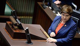 Wicepremier Beata Szydło uważa, że PO nie zrobiło wiele dla niepełnosprawnych