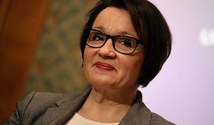 Opozycja domaga się dymisji Anny Zalewskiej