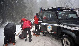 Miejscami w Tatrach wciąż leży ponad 1 metr śniegu.
