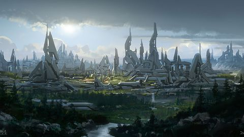 Szkice z Halo MMO