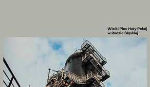 Ruda Śląska. Dawniej służył do wytopu stali, nowa rola wielkiego pieca