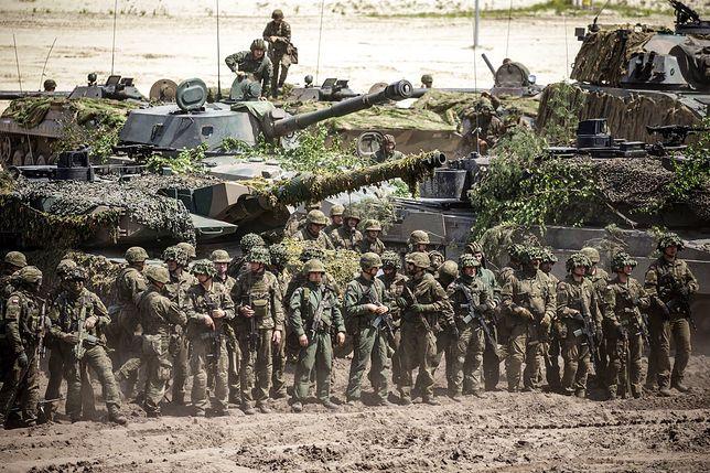 Manewry Dragon-21. Zdjęcie z oficjalnego profilu 18 Dywizji Zmechanizowanej im. gen. broni Tadeusza Buka.