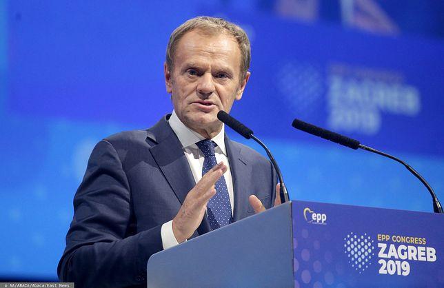 Donald Tusk - przewodniczący Europejskiej Partii Ludowej, były premier i były przewodniczący Rady Europejskiej