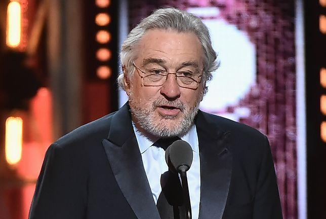 """""""F*** Trump!"""". CBS ocenzurowało Roberta De Niro wyzywającego prezydenta USA podczas Tony Awards"""