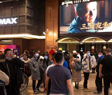 Na świecie szaleje pandemia. A w chińskich kinach fenomenalny rekord wszech czasów