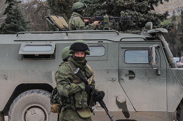 Rosyjski specnaz wtargnął do ukraińskich dywizjonów rakietowych w Sewastopolu