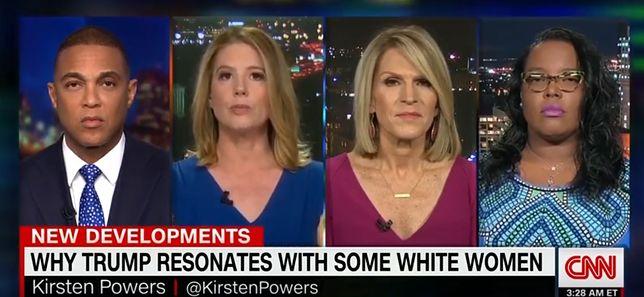 USA: Kirsten Powers (druga od lewej) nazwała kobiety głosujące na Donalda Trumpa rasistkami