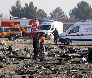 Iran. Świat reaguje na katastrofę ukraińskiego samolotu