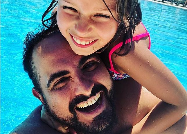 Agustin Egurrola i jego córka Carmen