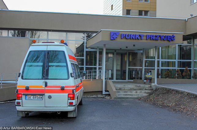 39-latek zmarł na izbie przyjęć szpitala w Sosnowcu po 12-godzinnych męczarniach