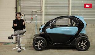 Renault Twizy pokazuje przyszłość miejskiego transportu. Jest mała i elektryczna