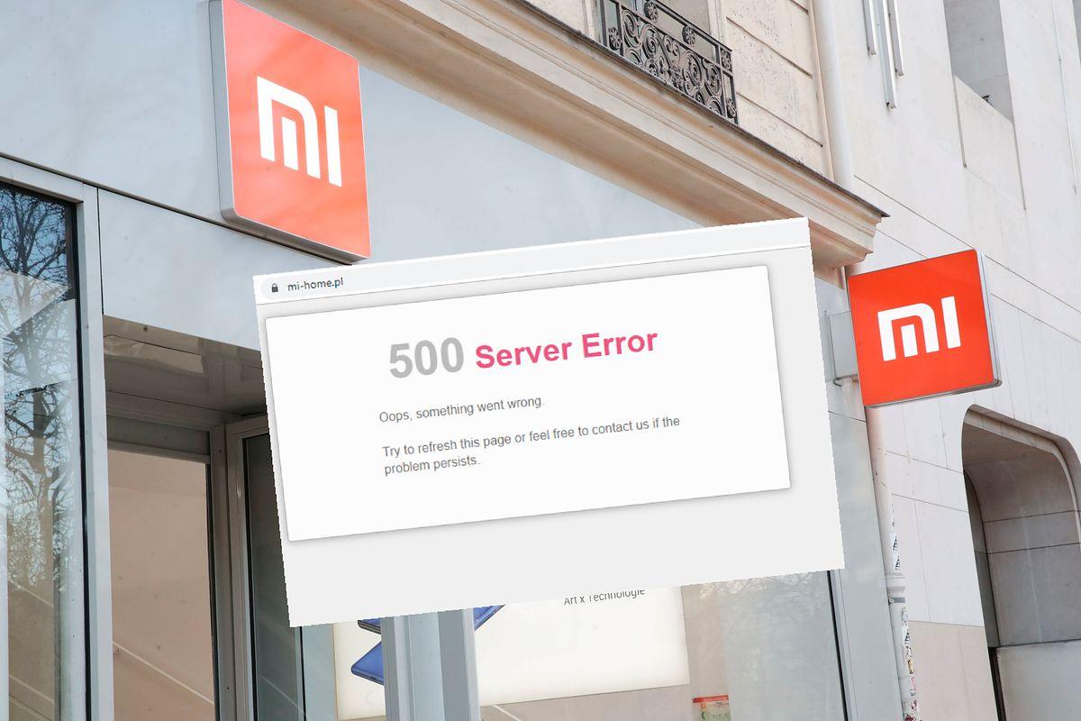 Xiaomi. Nie mają szczęścia do promocji. Padł serwer