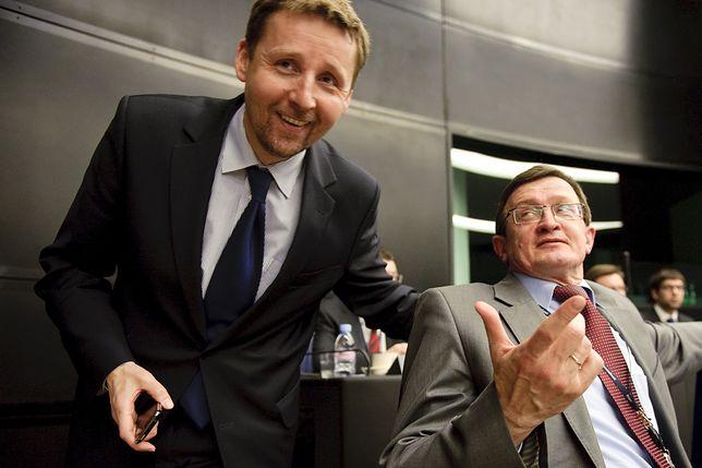 Marek Migalski i Tadeusz Cymański, byli europosłowie PiS