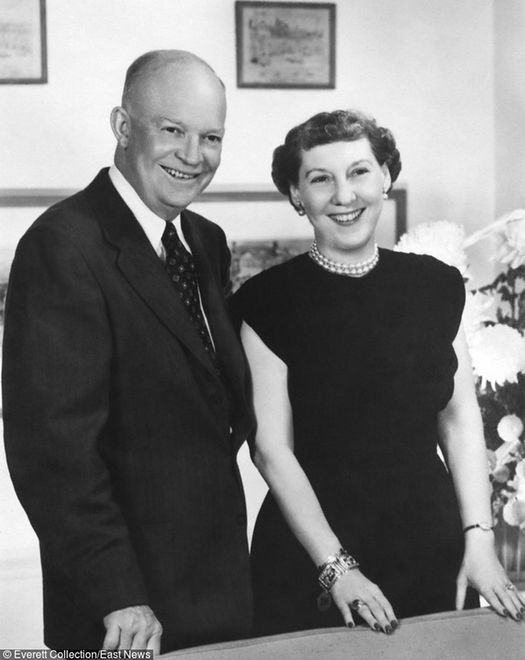 Eisenhower - ostatni łysy prezydent