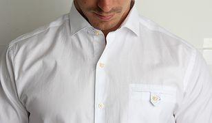 Szczegóły, takie jak dziurka na guzik, pozwalają określić czy mamy do czynienia z ubraniem, które projektował fachowiec.