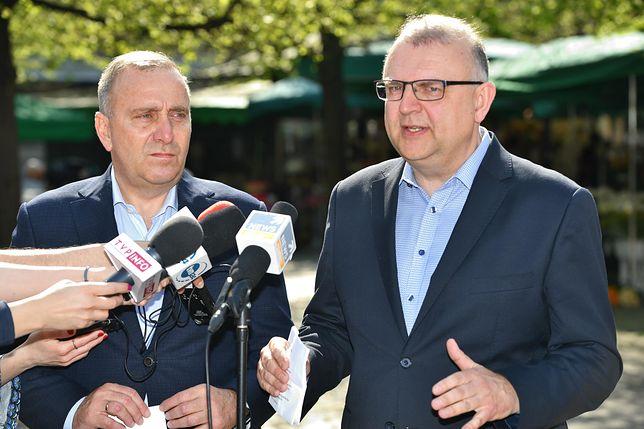 Grzegorz Schetyna i Kazimierz Ujazdowski