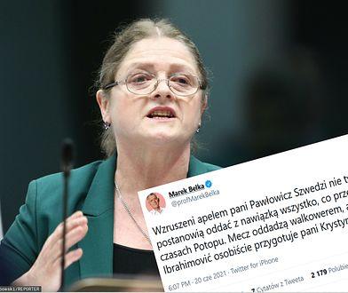 Pawłowicz zaapelowała do Szwedów. Bezlitośnie odpowiedział jej Marek Belka przypominając wpadkę byłej posłanki w Sejmie