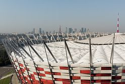 Warszawa. Wielki ruch na Stadionie Narodowym. To tylko film