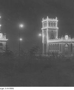 Warszawa nocą (STARE ZDJĘCIA)