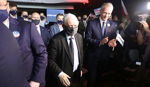Adam Bielan ogłosił powstanie Partii Republikańskiej. Wsparł go Jarosław Kaczyński
