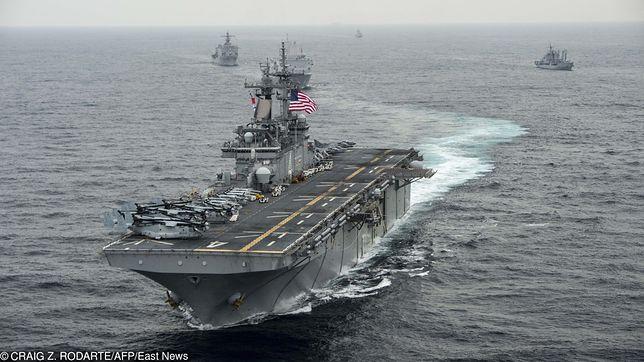 """USA ostrzegają Iran. """"Gdy będziecie za blisko, otworzymy ogień"""""""