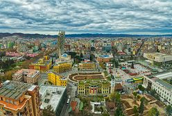 Tirana. Kolorowa stolica Albanii