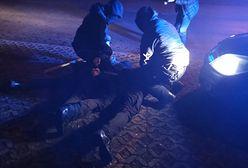 Katowice. Akcja policji. 13 zatrzymanych, 500 zarzutów