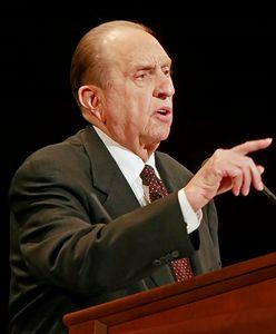 Zmarł prezes-prorok mormonów. Stał na czele kościoła, który nie stroni od pieniędzy