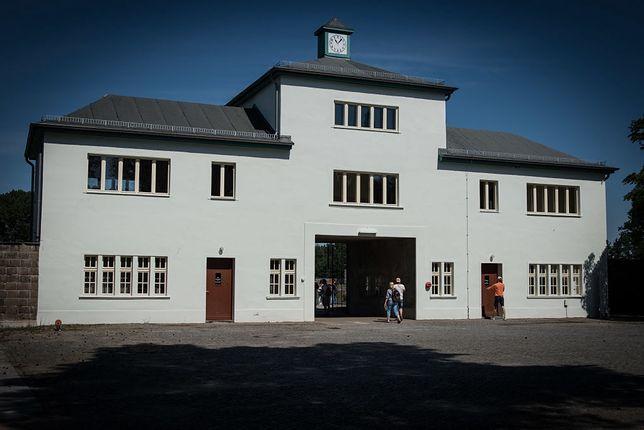 Brama główna obozu Sachsenhausen